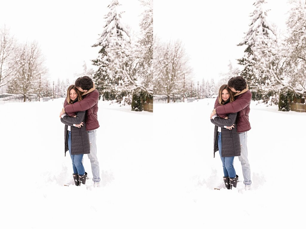 #snowday #couple #snowpics #coupleinsnow #snowcouple #friends #lifestyle #lifestylesnow #snowportraits